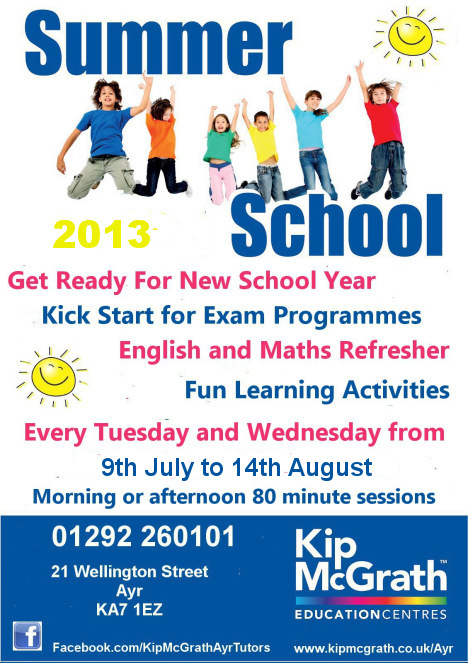 Ayr Summer School 2013